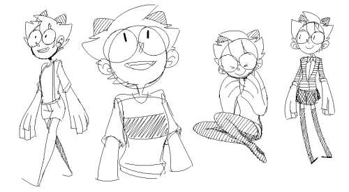 Some doodles of Molly! Oh God it's 8:10 AM why am I awake?