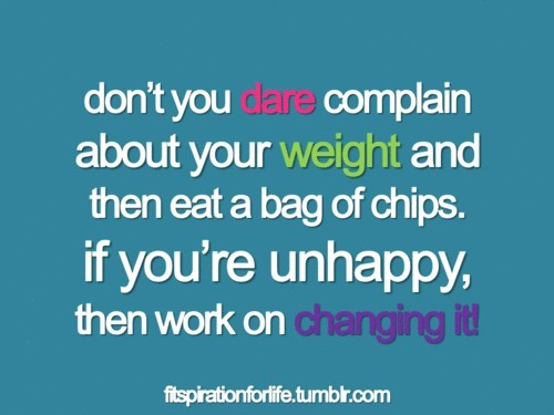 Outeating your workouts is the worst thing to do. Get rid of the chips!