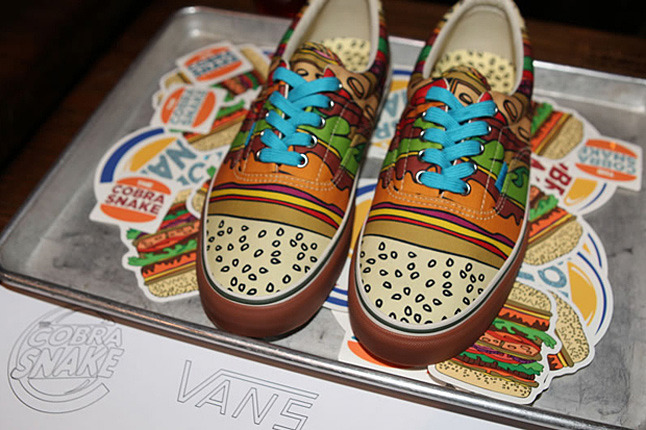 Want.Vans + The Cobra Snake + Colette shoes.