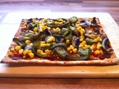 Lunch Spicy Vegan Pizza