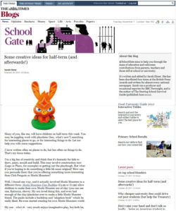 Moshi Monsters Clay Buddies Feature in the Times Online.