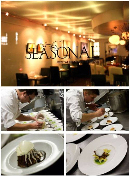 Austrian cuisine in NYC Seäsonal Restaurant & Weinbar, a modern Austrian eatery, serves traditional dishes, new interpreted. elegant home - cooking in a sleek but welcoming setting the taste of Austria. to seasonalnyc
