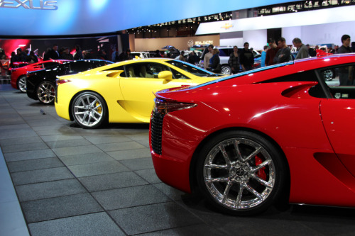 Assorted LFAs @ Chicago Auto ShowPhotos submitted by danphanphotog
