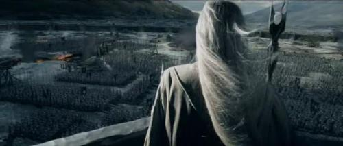 masquerade68:  This is probably my favourite scene in the Two Towers! Saruman showing off. A shame he didn't put it all towards stopping Sauron…