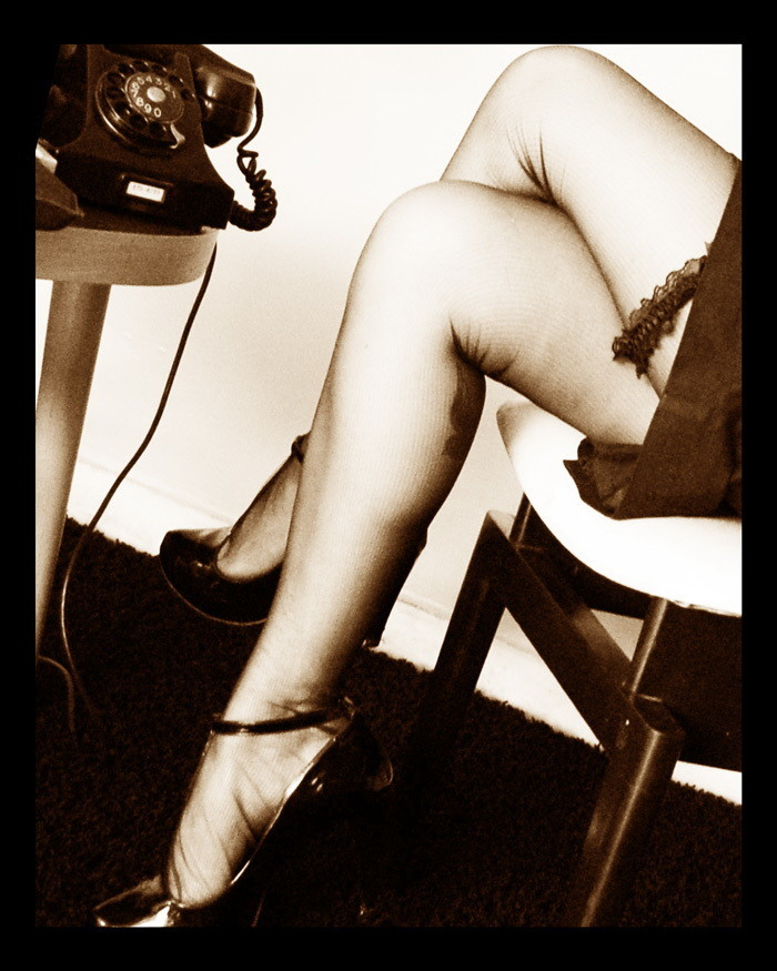 Nylons, heels and telephones…