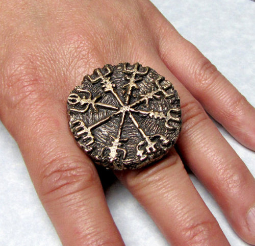ringporn:  Scandinavian Viking Compass Ring
