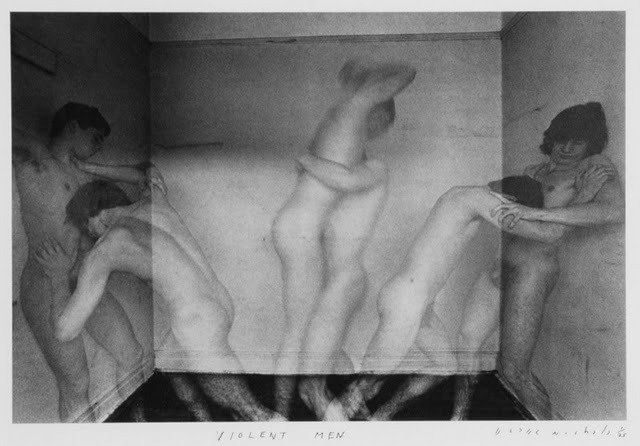 Violent Men by Duane Michals