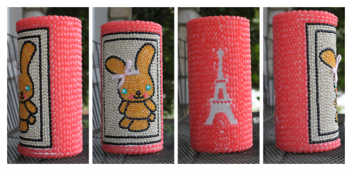Rabbit Dohl Tower for Korean 1st birthday (Paris Theme)