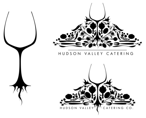 a logo I did for my good friend Rio and his catering company he is starting, the name is TBD for now