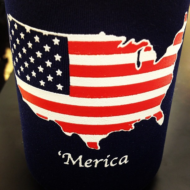 fraterpillar:  southerngirlandpearls:  Casually obsessed with this koozie (Taken with instagram)  I need this.