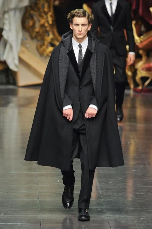 chloethunders:  Dolce & Gabbana, Men's Autumn/Winter 2012.