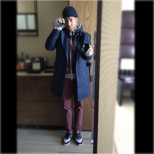 This Club Monaco Trench coat is so killer!  (Taken with instagram)