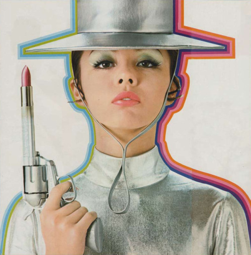 Japanese lipstick advertisement, 1969