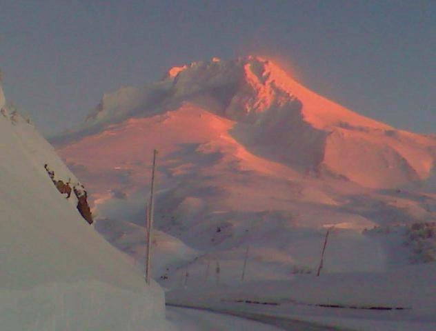 Mt. Hood at dawn from timberline road :)