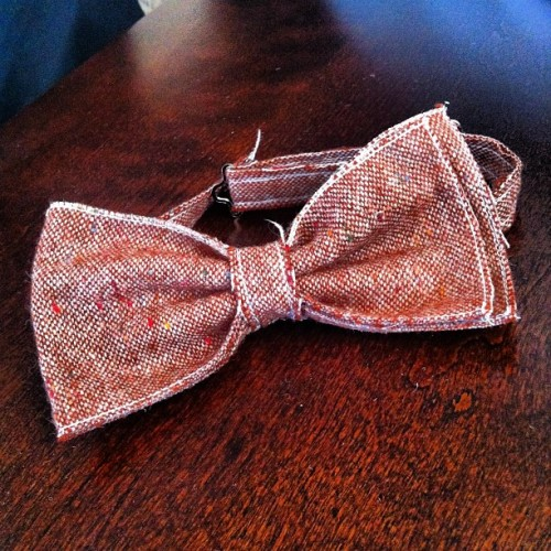 Distressed #bowtie #diy #<3TJ (Taken with instagram)