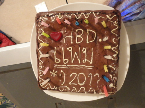 My birthday cake last year THX ALL muahhhh