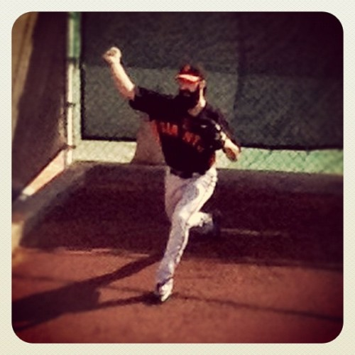 "badspringtrainingtwitpics:  ""OOOOH LOOGIT ME I INSTAGRAMMED IT!"" You'll never guess which market Jaymee Sire covers. Thanks for that grainy wrinkle, Jaymee!  We can get down with Bad Spring Training Twitpics."