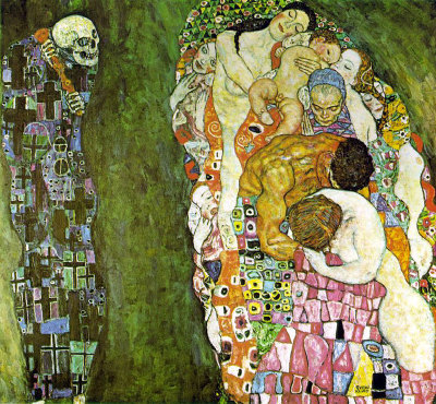 toad-hollow:  gustav klimt, death and life