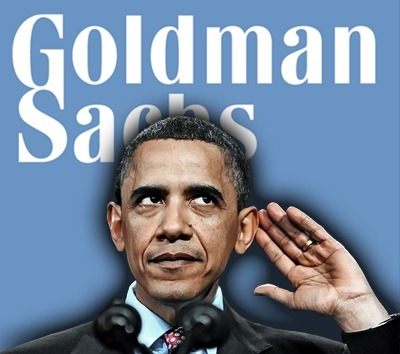 Goldman Sachs of Shit: Financial Institutions Own Obama 84 Percent of San Francisco Foreclosures Fraudulent—Why are Bankers Still Getting Away with Crimes? Last week, five of the nation's largest banks and 49 of its attorneys  general announced a $26 billion settlement that essentially let the  banks off the hook for the widespread use of fraudulent documents in the  foreclosure process. Thursday, the San Francisco County assessor  released an audit suggesting  that many, many more demonstrable crimes were committed during the  foreclosure bust of the past few years. My use of passive tense is not  accidental; the audit doesn't name names, though it's long past time we  start doing so. …and this after the taxpayers bailed the banks out for how many $TRILLIONS$?? Obama is Owned, Ineffectual and about as dim as, dare I say it….George Bush.