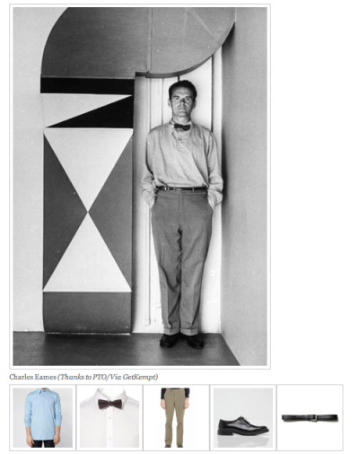 nerdboyfriend:  Thanks to PTO & Kempt  Speaking of Eames…