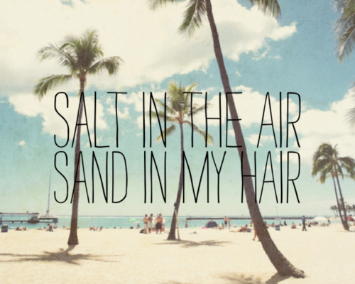 I miss even that! wordsandlyrics:  Take me to the sea-side.