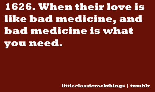 """Bad Medicine"" by Bon Jovi Submitted by vinylography"