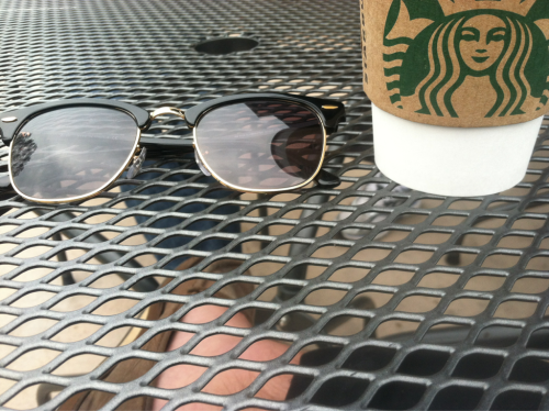 Morning coffee with best friends