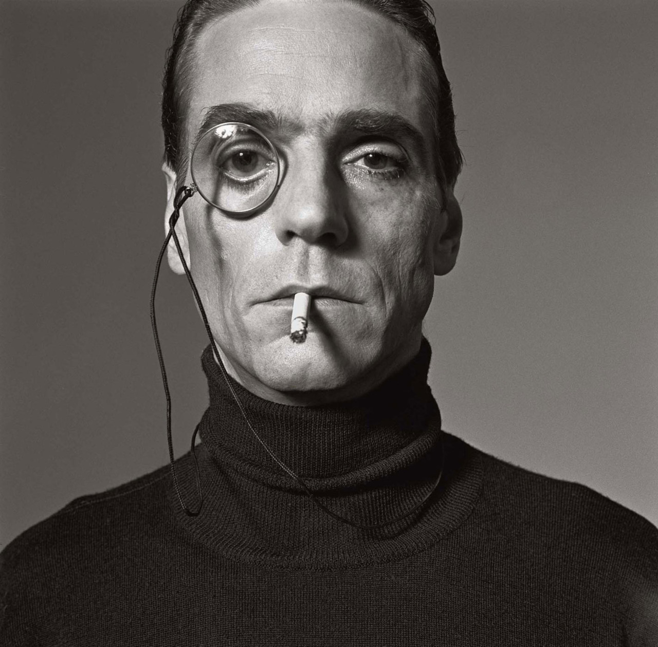 Jeremy Irons by Michel Comte