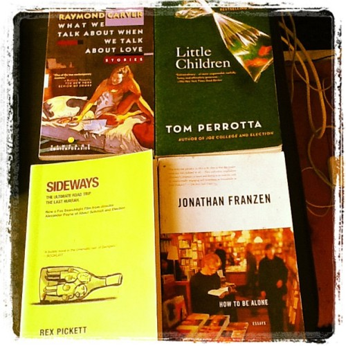 Good day at the used book store (Taken with instagram)