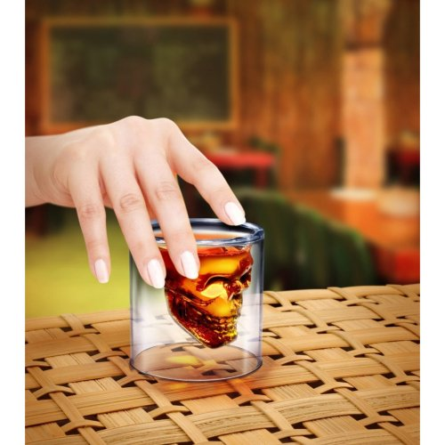 'Crystal Skull' Shotglass Click on the picture for more details.