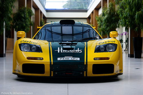 Only the excellence Starring: McLaren F1 GTR (by Willem Verstraten)