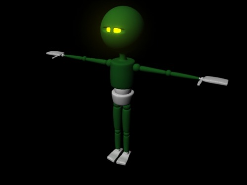 Little man I've been working on for future animations. Ganna rig him up good soon too :P And, thanks to Sean :) seantbone.tumblr.com