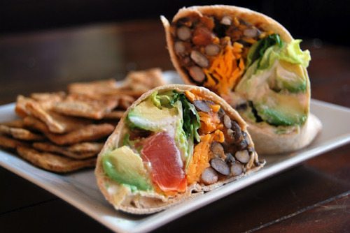 chipotle bean burritos.