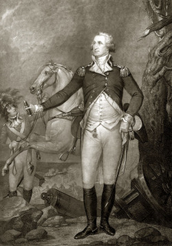 President George Washington in uniform