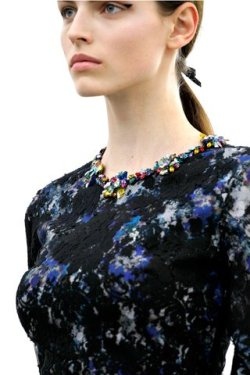 Erickson Beamon for Erdem AW12..beautiful jewels for a beautiful collection….photo courtesy of Style.com