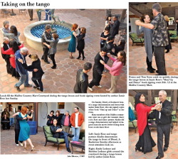 Wonderful photo spread in the Malibu Times featuring the Valentine's Day  Shut Up & Dance! event at Diesel Books Malibu. It was such a fun day and I think these pics really capture it.