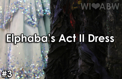 whatiloveaboutbroadway:  What I Love About Broadway… Elphaba's Act II Dress submitted by anonymous