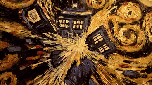 The Dr Who Van Gogh episode is my absolute favorites. This is a fantastic painting.