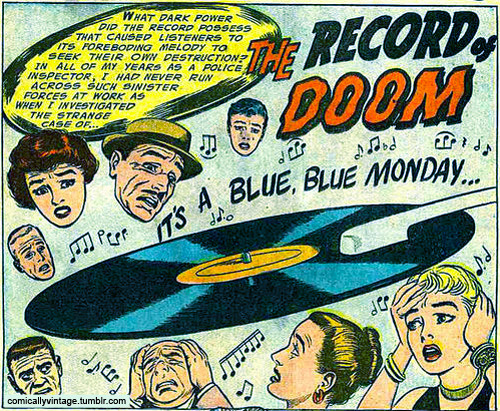 comicallyvintage:  It's a Blue Monday!