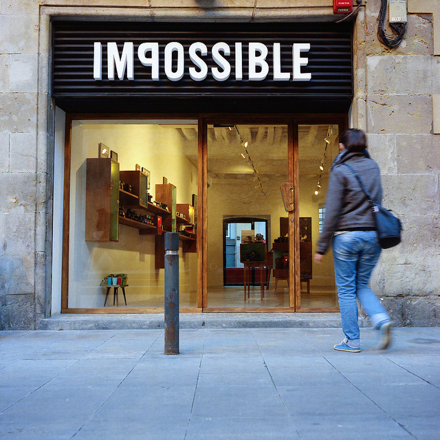 Impossible on Flickr.Via Flickr: Impossible Project. Barcelona.  Rolleiflex T | Kodak Portra 400
