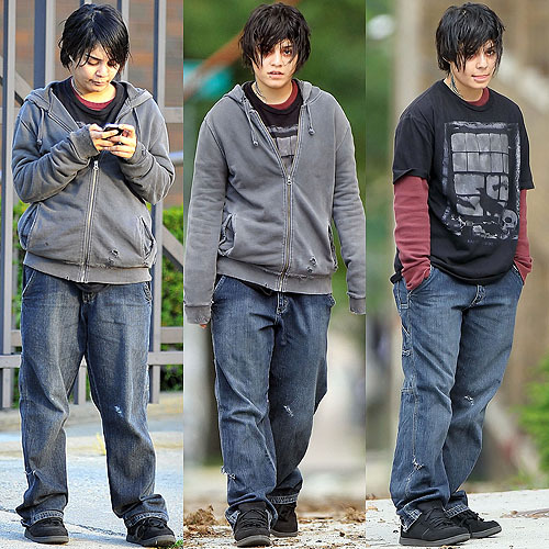 Anybody else freaked by Vanessa Hudgens' dramatic change? ;D For the movie Gimme Shelter. Needless to say, I didn't recognize her at first.