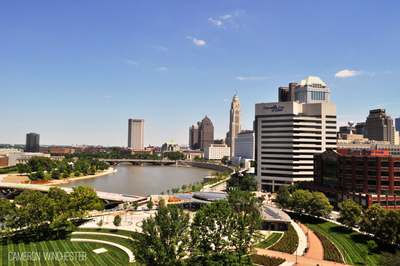Here's a picture I shot over the summer in Downtown Columbus.