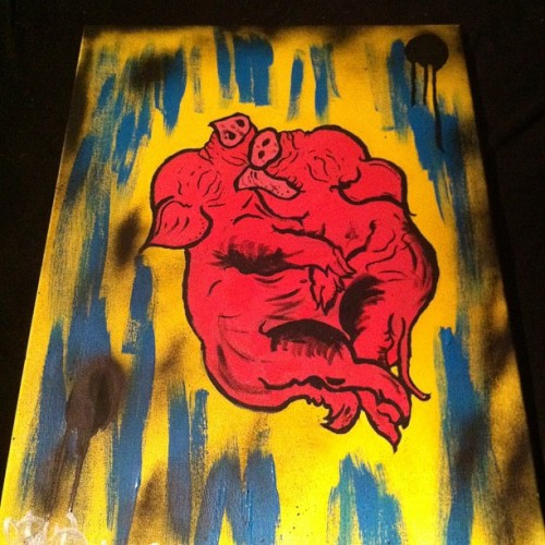 ahhthemonster:  GEMINI  By me. Duhhhh. Gettin' it.
