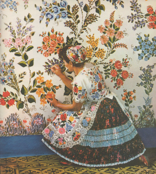 Károly Gink, Folk Art and Folk Artists in Hungary, 1968