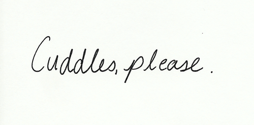 Please, pretty please.