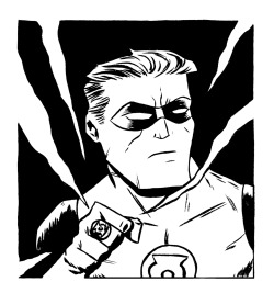 Here I have drawn Green Lantern for you to color! He looks like he is totally serious and ready for superhero business. You can print this out and color it with crayons or on the computer all fancy like if that's your thing. Either way is totally fine with me, just be sure to let me know how it turns out by giving me a shout on Twitter or dropping it in the Submissions Box! As always, sharing is caring, so if you like this or think other people you know might like to color it, reblog it or print it out and give it to them. xoch