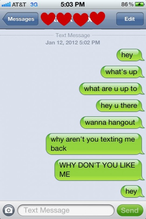 how to make your crush like you over text