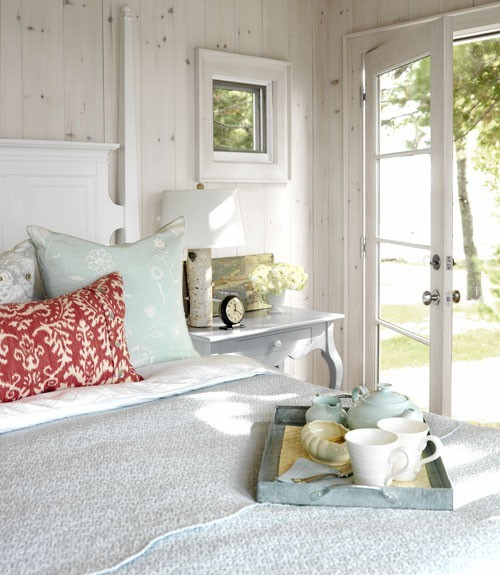 Design by Sarah Richardson, photograph by Stacey Brandford via Country Living