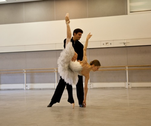 theballetblog:  Marianela and Thiago :)