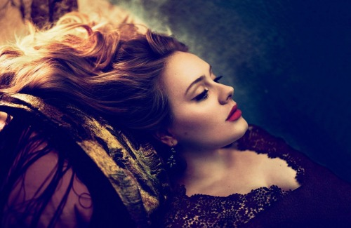 Gorgeous! (Adele - Vogue March 2012)
